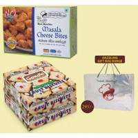 Gandhi Bakery Roasted Snacks & Fruit Biscuit Packs