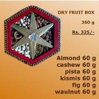 Dry fruit Pack 360 Gm