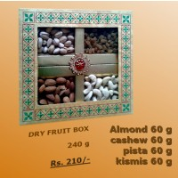 Dry fruit Pack 240 Gm