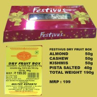 Miltop Festivus Dry Fruit Pack