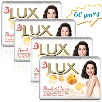 Lux Peach & Cream Soap