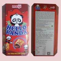 Meiji Hello Panda Biscuits With Chocolate Flavour Filling