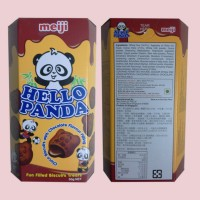 Meiji Hello Panda Choco Biscuits With Chocolate Flavour Filling