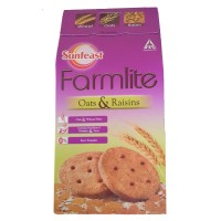 Sunfeast Farmlite Oats & Raisin Cookies