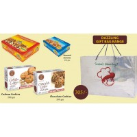 Gandhi Bakery Roasted Snacks & Cookies Pack