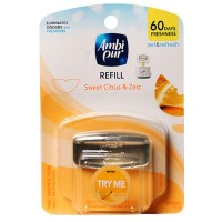 Ambi Pur Set & Refresh Starter Kit - Sweet Citrus & Zest