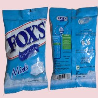 Fox's Crystal Mint Pouch