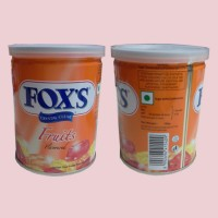 fox's fruits flavoured crystal clear candy