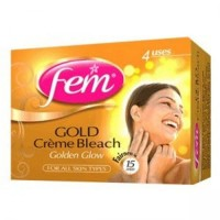 Fem Golden Glow Creme Bleach