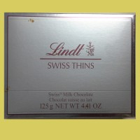 Lindt Swiss Thins Chocolate