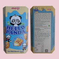 Meiji Hello Panda Biscuits With Milk Flavour Filling